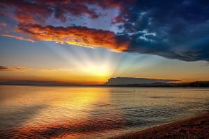 Tableau mer et ciel orange.png